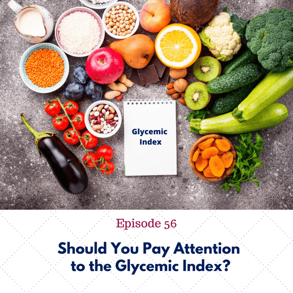 Should you pay attention to the glycemic index?